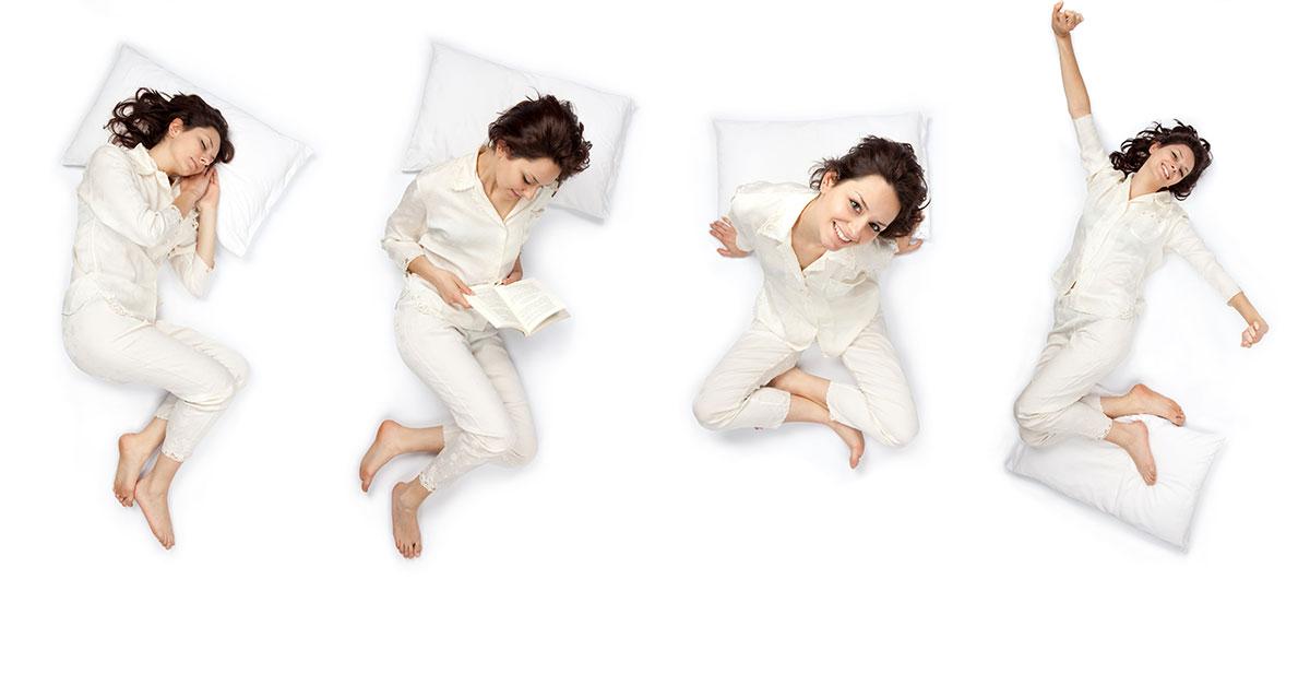 Postura giusta per dormire